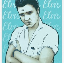 Elvis. A Illustration project by Franz Simons - 16-01-2017