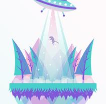Mi Proyecto del curso: Ilustración para no ilustradores | Little Worlds . Um projeto de Ilustração e Design gráfico de Jhaly         - 19.01.2017