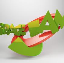 Space Jam Logotipo. Um projeto de 3D de ENMANUEL RONDON         - 21.01.2017