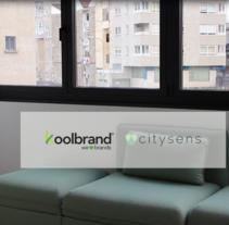 Proyecto audiovisual Citysens & Koolbrand. Un proyecto de Post-producción, Serigrafía, Vídeo y Social Media de Coral Barciela - 15-01-2017