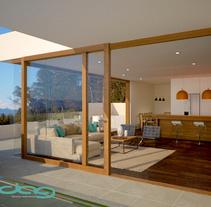 Anteproyecto La Huasa. A 3D, Architecture&Interior Architecture project by Daniela Águila         - 18.01.2017