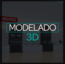 Diseño 3D: Stand, módulos, exhibidores. A Design, and 3D project by Melissa Gutierrez Reyes - 15-10-2016