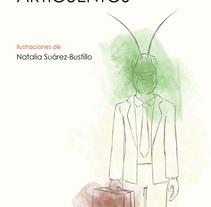 Portada ARTICUENTOS, de Juan José Millas (trabajo de clase). Un proyecto de Ilustración de Natalia Suárez-Bustillo         - 30.01.2017