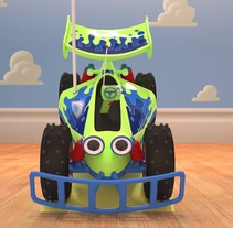 R.C. Car de Toy Story . A Design, Motion Graphics, Film, Video, TV, 3D, Animation, Character Design, Graphic Design, To, Design, Film, and Video project by Àlvaro Tobar Orte         - 02.02.2017