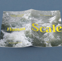 Human Scale Fanzine. A Design, Art Direction, Editorial Design, and Graphic Design project by Jesús Román Ortega - 07-02-2017