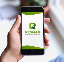 RESMAR: Logotip. Un proyecto de Br e ing e Identidad de Hèctor Salvany Peyrí         - 11.09.2016