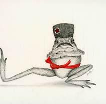 Sapo Cosaco. Um projeto de Ilustração de Laura Regàs         - 14.02.2017