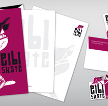Propuesta de logo y papelería Eibi Skate. Um projeto de Design, Ilustração e Design gráfico de San Gráfico         - 15.02.2017