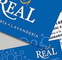 Lavandería Real. Um projeto de Design e Design gráfico de San Gráfico         - 15.02.2017