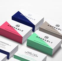 Adorable Cosmetics / Branding. Um projeto de Br, ing e Identidade, Design gráfico e Packaging de Alicia Gallego         - 20.01.2016
