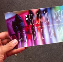 Taller de Pintura Educación Creadora. Un proyecto de Diseño, Br e ing e Identidad de martamartinez         - 15.02.2017