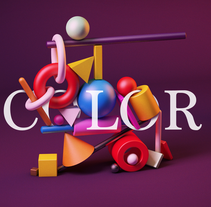 Mi Proyecto del curso: Introducción exprés al 3D: de cero a render con Cinema 4D. A Design, 3D, Art Direction, and Graphic Design project by David López - 15-02-2017