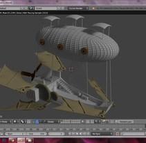 Barco volador. Um projeto de 3D de Arkalion Shobic         - 21.02.2017