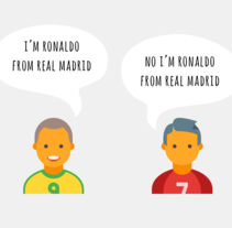 Ronaldos. A Infographics project by Alexander Khristoforov         - 25.02.2017