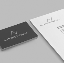 Antoine Veduka. A Br, ing, Identit, and Graphic Design project by Tip Tip Studio  - 01-03-2017