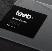 Teeb. A Design, UI / UX, Art Direction, Br, ing, Identit, Information Architecture, Web Design, and Web Development project by Montenegro Creative Studio          - 02.03.2017
