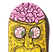 Skateboard • Broken Face #SkateArt. A Design, Illustration, and Art Direction project by Matdisseny (marc argelich trigo) - 09-12-2013