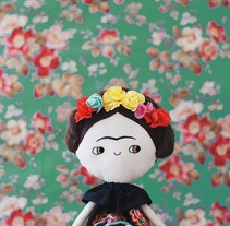 Muñeca Frida. A Photograph, Character Design, Crafts, To, and Design project by lelelerele         - 14.03.2017