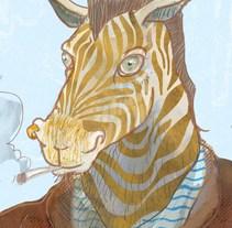 Animales Marginales. Um projeto de Ilustração de carlos carmonamedina         - 17.03.2017