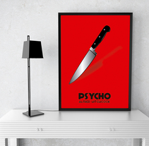 Cartel película Psycho. A Graphic Design project by Marc Xavier Gómez Tugues kld         - 20.03.2017