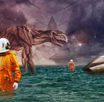 Galactus. Un proyecto de Ilustración, Fotografía y Pintura de David Fuentes - 23-03-2017