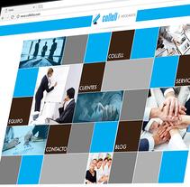 Collell y Asociados C.A.. Um projeto de UI / UX, Design gráfico e Design interativo de Ana Callegari         - 24.06.2015