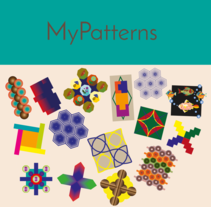 My colorfull Patterns!. A Illustration project by Kiria Gutierrez         - 30.03.2017