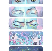 We come from the stars. Um projeto de Ilustração e História em quadrinhos de Mara Gallego         - 31.03.2017