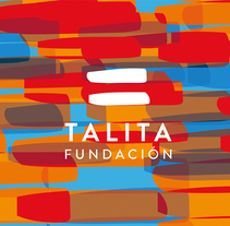 Fundación Talita Branding. A Design, Art Direction, Br, ing, Identit, and Graphic Design project by Laura Sala         - 01.04.2017
