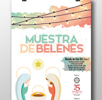 Muestra de belenes 2015. A Design, Illustration, Advertising, and Graphic Design project by Raquel Hernández Sánchez         - 19.12.2015