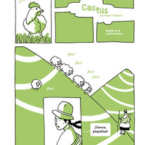 Cactus. A Comic project by Felipe H. Navarro - 31-05-2014