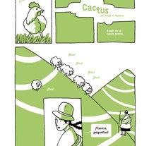 Cactus. Un proyecto de Comic de Felipe H. Navarro - 31-05-2014