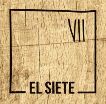 Flyer El Siete. Um projeto de Design gráfico de IDEOTAS        [GR4ND35 1D345] - 17-04-2017