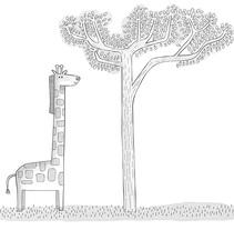 Piano Safari. Un proyecto de Ilustración de Elisa Lara Campos         - 11.02.2017