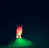Estudio de luz y color . Un proyecto de Ilustración y 3D de Altea Lomo - 11-06-2016