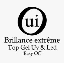 Branding OUI Uv + Led gel finalizador. Um projeto de Br e ing e Identidade de Angela Maria Lopez - 01-01-2015