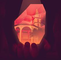 Mi Proyecto del curso: Poster Zaruma. Un proyecto de Ilustración de Juan Ordoñez - 20-04-2017