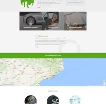 ITV Certio. Un proyecto de Diseño Web de La Teva Web Diseño Web  - 27-04-2017