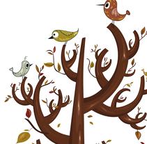 Autumn. Un proyecto de Diseño, Ilustración e Ilustración vectorial de Irene Ibáñez Gumiel - 27-04-2017