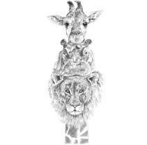 Tótem África . A Illustration project by Cristina Iglesias - 30-04-2017