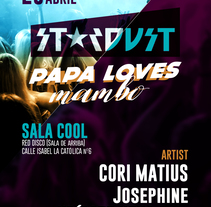 Flyer Papa Loves Mambo. A Design, Events, and Graphic Design project by David Benedid         - 01.05.2017