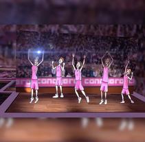 Vídeo presentación campaña 2015 Club de Baloncesto Femenino Conquero Huelva. Un proyecto de Música, Audio, Motion Graphics, Cine, vídeo, televisión, Animación, Br, ing e Identidad, Diseño gráfico, Marketing, Post-producción, Vídeo, Infografía y Animación de personajes de Eduardo Gancedo         - 12.09.2015