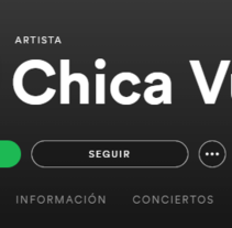 Chica Vudú Album Artwork. Un proyecto de Ilustración de Mai Zaragoza - 23-05-2017