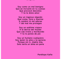 Poema. A Writing project by Penelope Kafie         - 26.05.2017