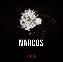 Diseño campaña publicitaria NARCOS. A Design, Photograph, Film, Video, TV, Art Direction, Editorial Design, Graphic Design, and Web Design project by Cecilia Calderón Esteban         - 28.05.2017