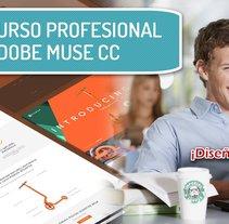 Curso profesional ADOBE MUSE CC 2017.1. Un proyecto de Diseño Web y Desarrollo Web de AdobeMUSEtutoriales          - 07.06.2017