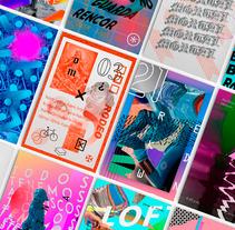 Random Poster Serie. Um projeto de Design, Direção de arte, Design editorial e Tipografia de Gerson Cabrera         - 21.11.2016