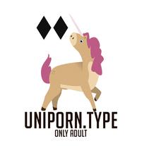 UNIPORN.TYPE (+18). Un proyecto de Ilustración y Tipografía de Pedro Alón         - 19.06.2017
