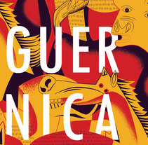 Carteles Guernica 80 años. A Design, Illustration, Graphic Design, Screen-printing, and Vector illustration project by Abdel De La Campa Escaig         - 19.05.2017