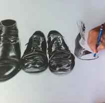 Dibujo hiperrealista con Ángel Cortés.. A Fine Art project by Miguel Gosálvez Mariño         - 26.06.2017